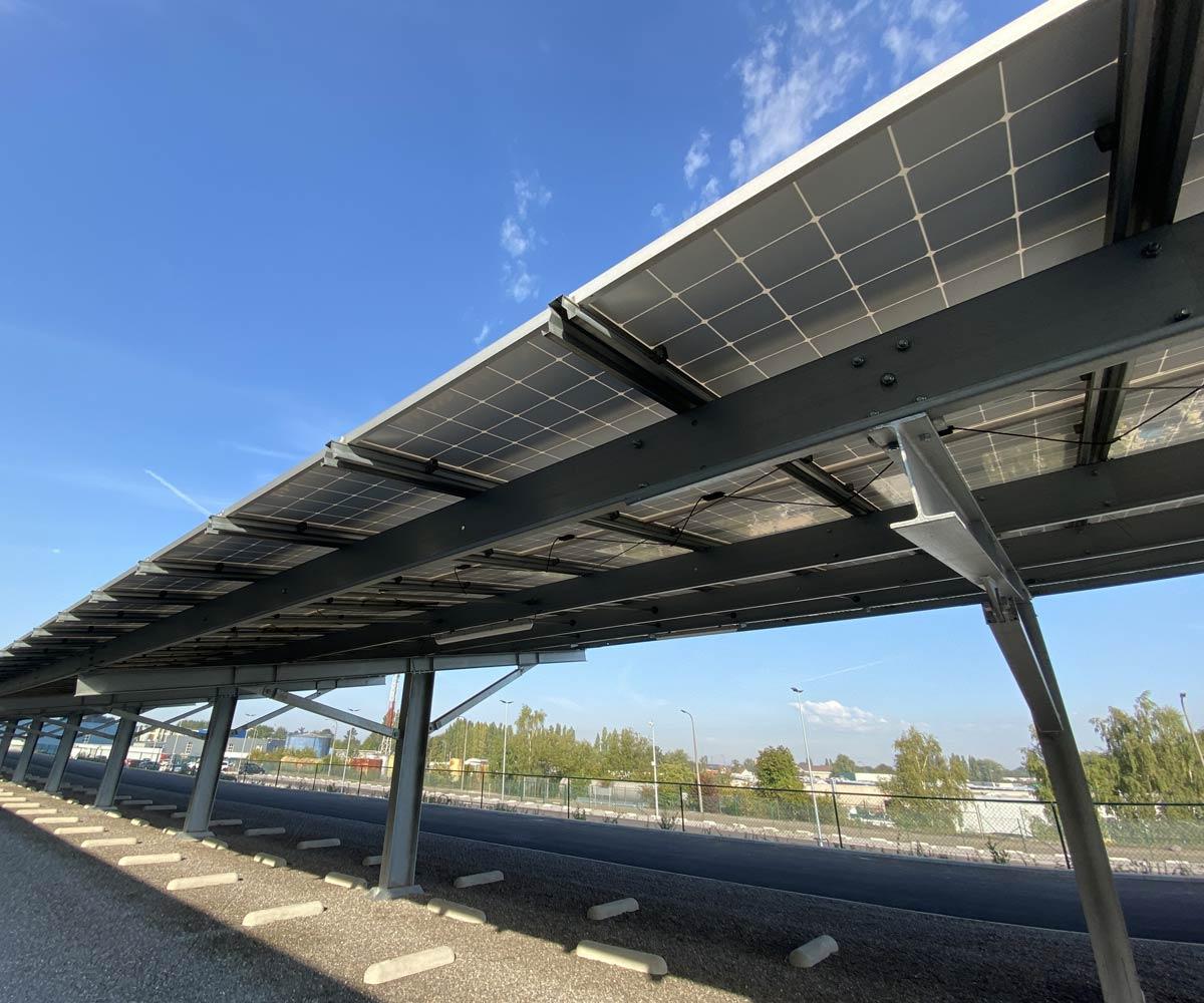 ombriere-photovoltaïque