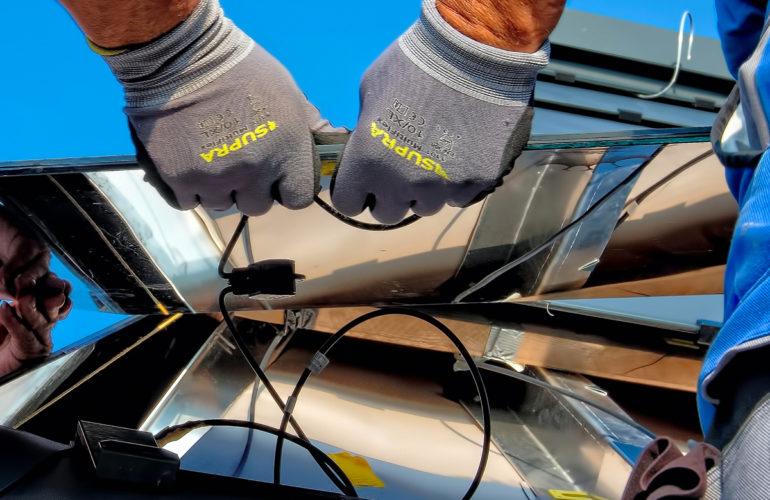 Installateur professionnel de panneaux photovoltaïques