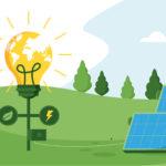 Installation de panneaux solaires sur toiture