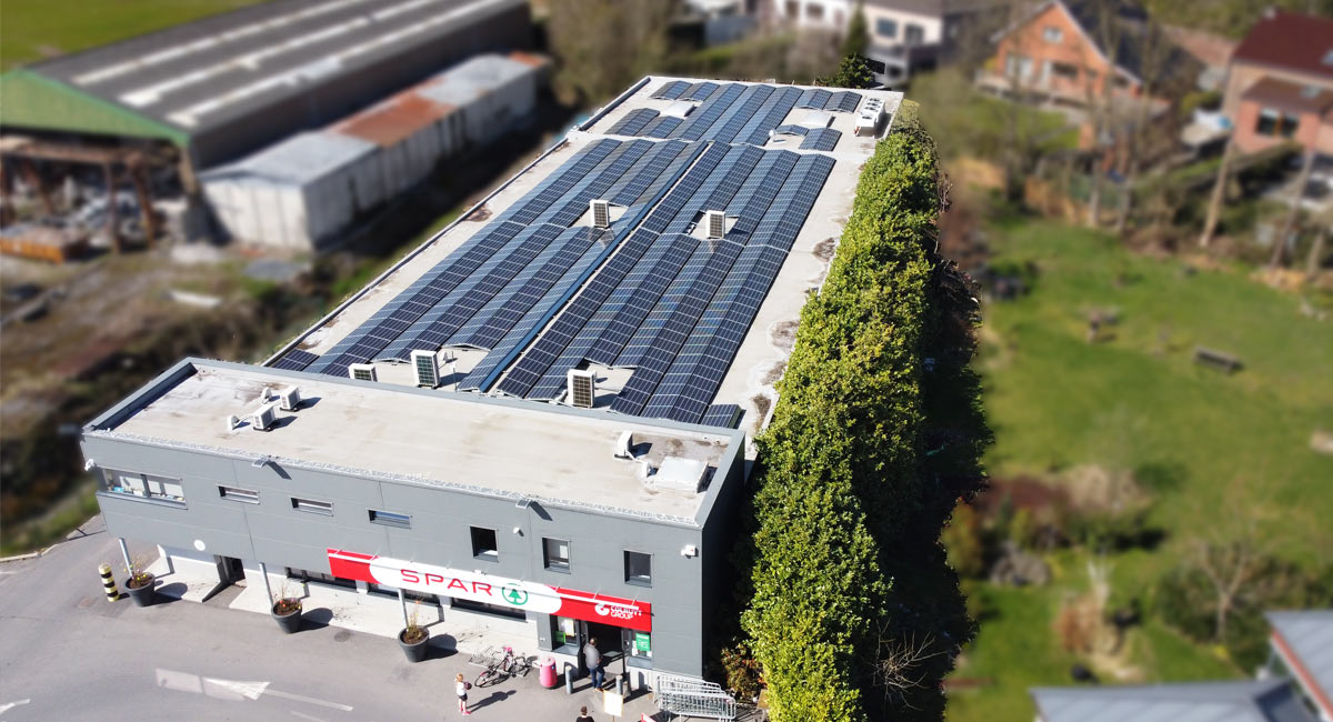 Installation photovoltaique pour retail